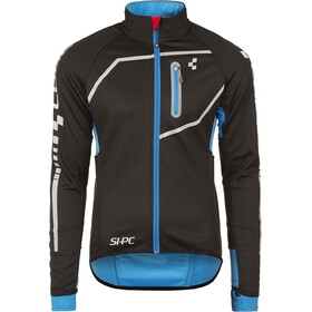 Cube Teamline Softshell Jas Heren, black'n'blue